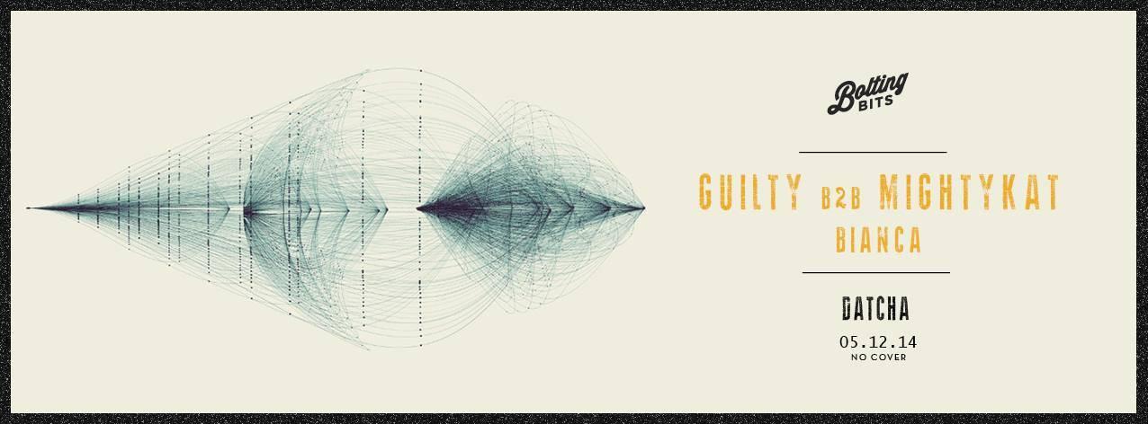 Bolting Bits présente : GUILTY B2B MIGHTYKAT / BIANCA @ Datcha